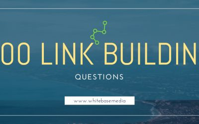 Link Building Questions
